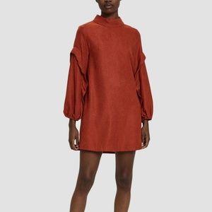 Farrow Ruffle Sleeve Dress